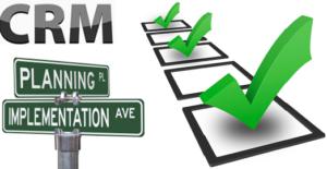 Ideal Online CRM Implementation Plan