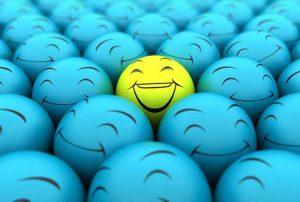 happy sales people