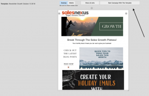 email template campaign