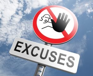 CRM Excuses