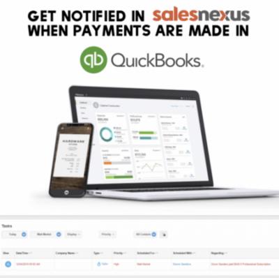 SalesNexus & QuickBooks Integration-Payments
