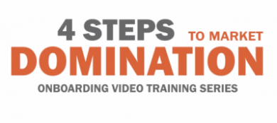 4 Steps To Market Domination: Video Training Series