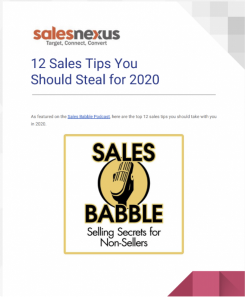 sales tips