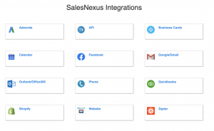 salesnexus integrations api