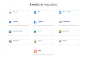 salesnexus integrations