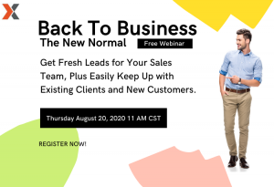 Back To Business Webinar - The New Normal