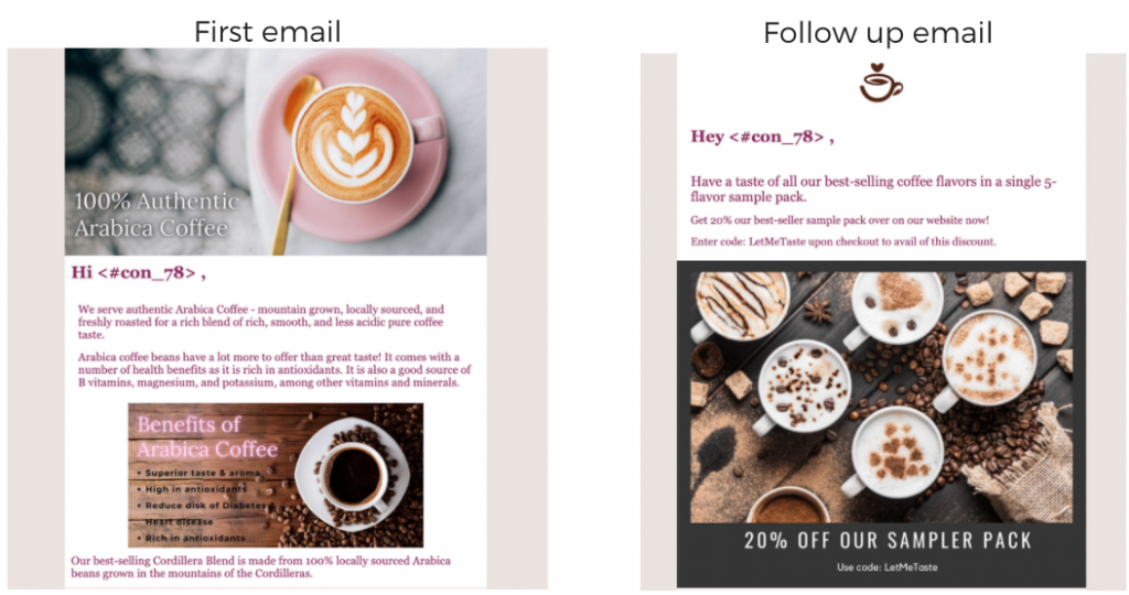 Email template full