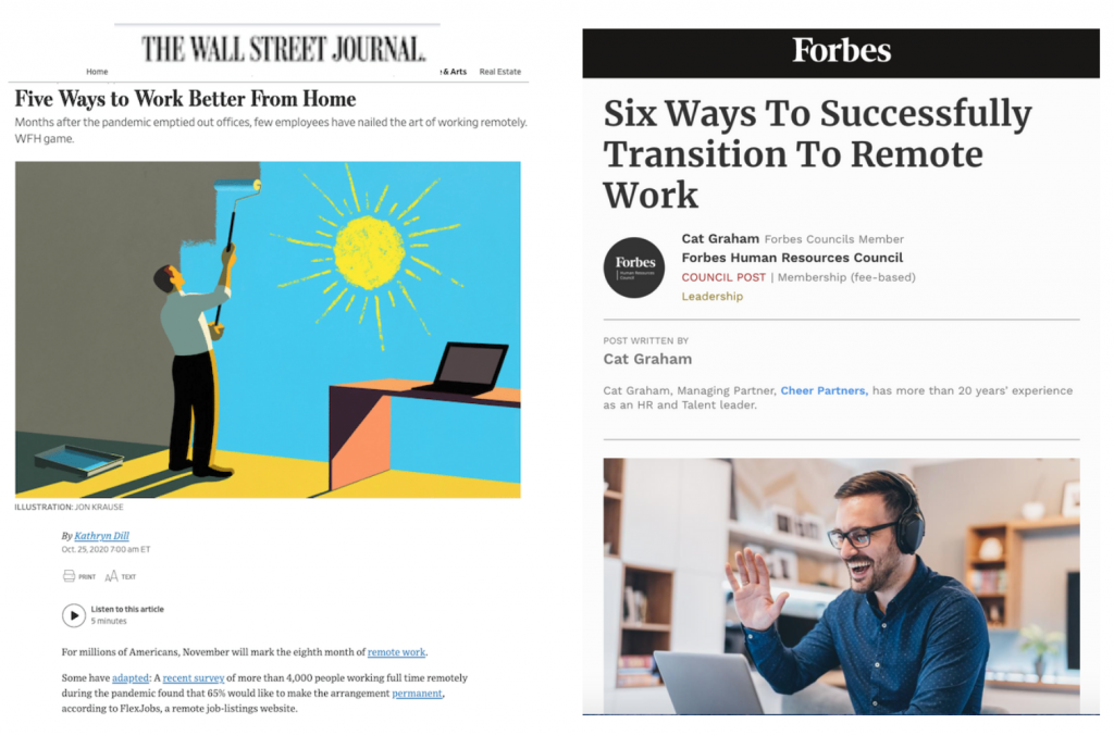 Transition to remote work