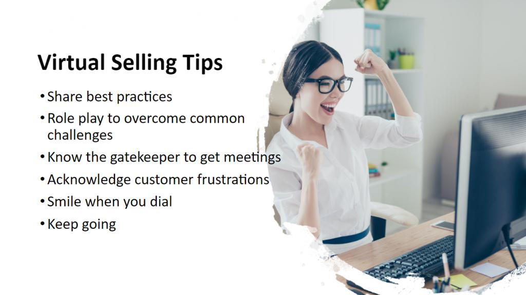 Virtual Selling Tips