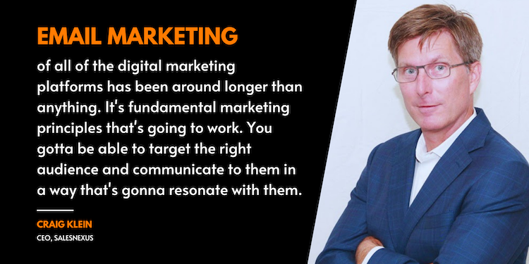 You gotta be able to target the right audience and communicate them in a way that's gonna resonate with them.